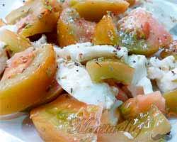 Ensalada de Mozzarela 1