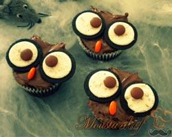 Cupcakes de Búho 1