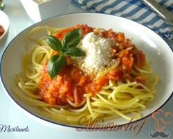 espaguetis-beicon-tomate