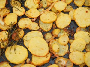 Patatas al Horno con Romero