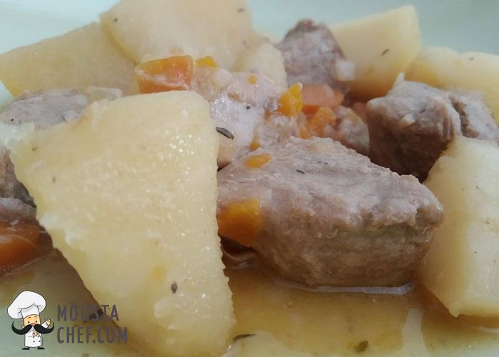 recetas Caseras Estofado de Cerdo