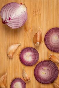 Receta Macarrones Ajos y Cebolla