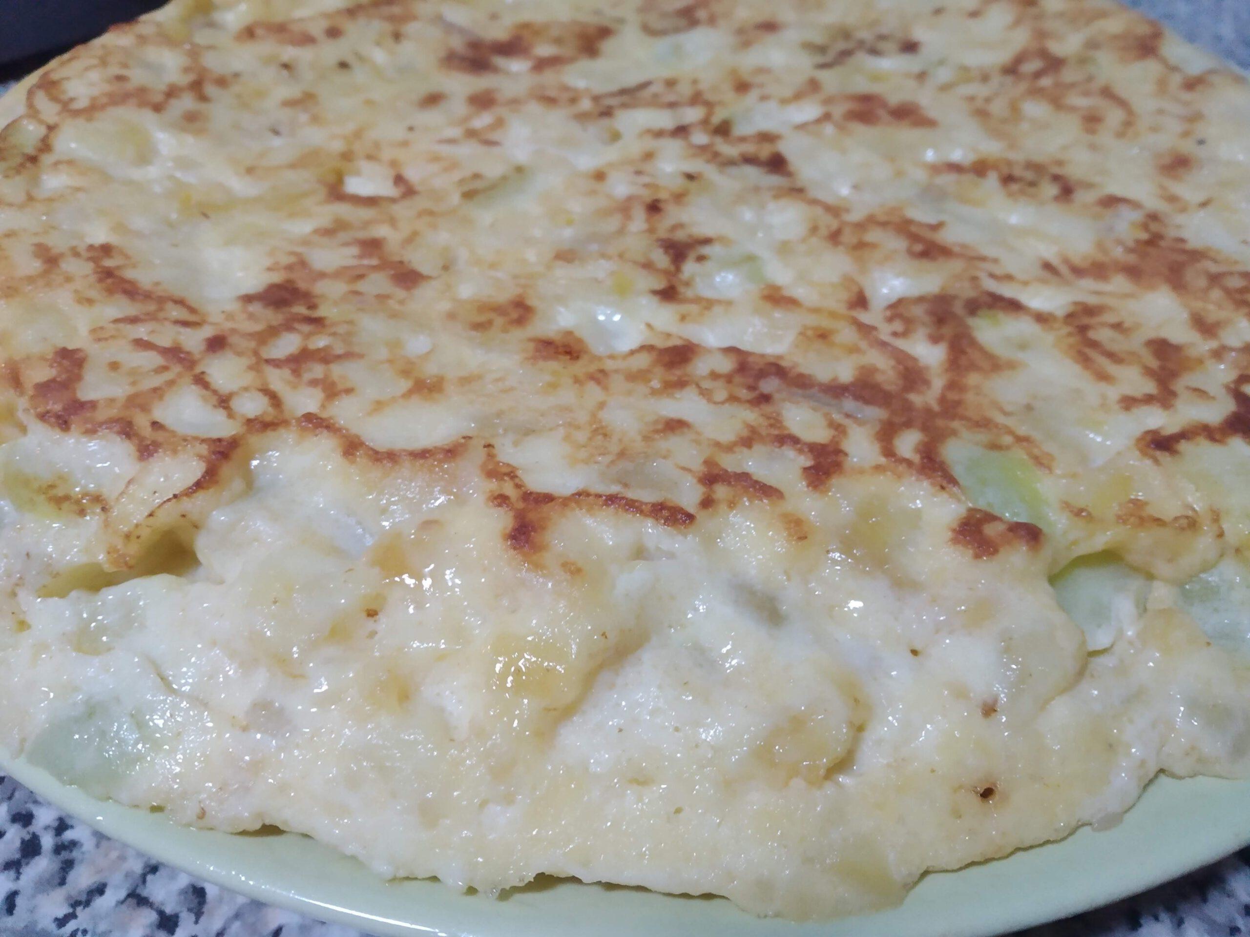 Tortilla de Calabacin con Patatas