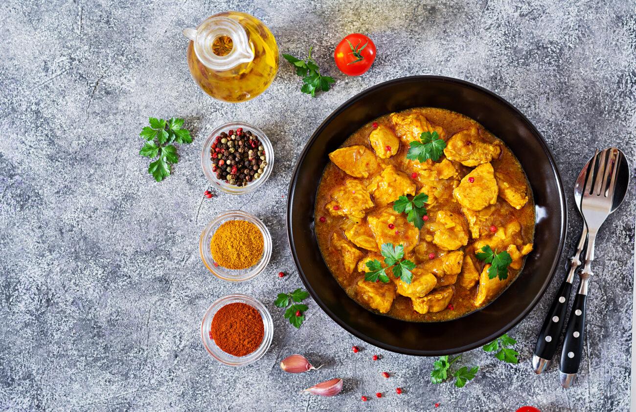 Curry con Pollo