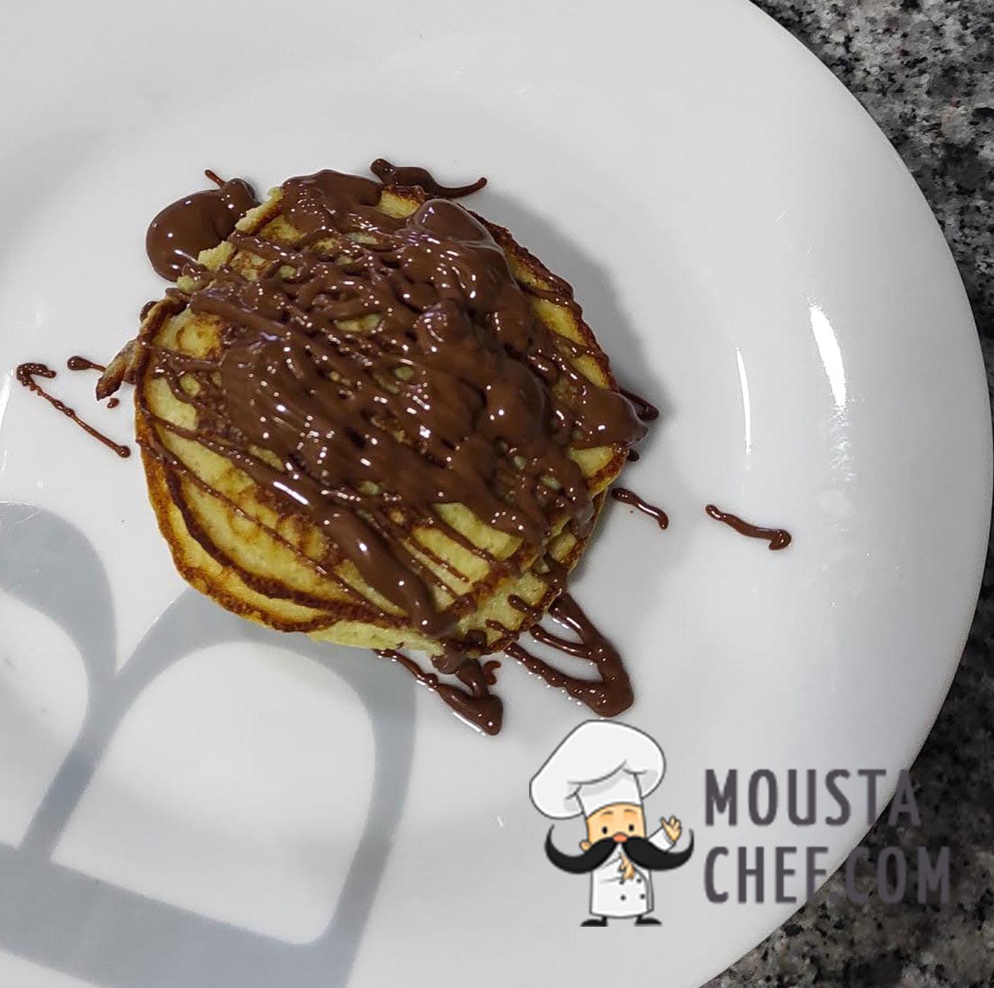 Tortitas de Avena con Chocolate