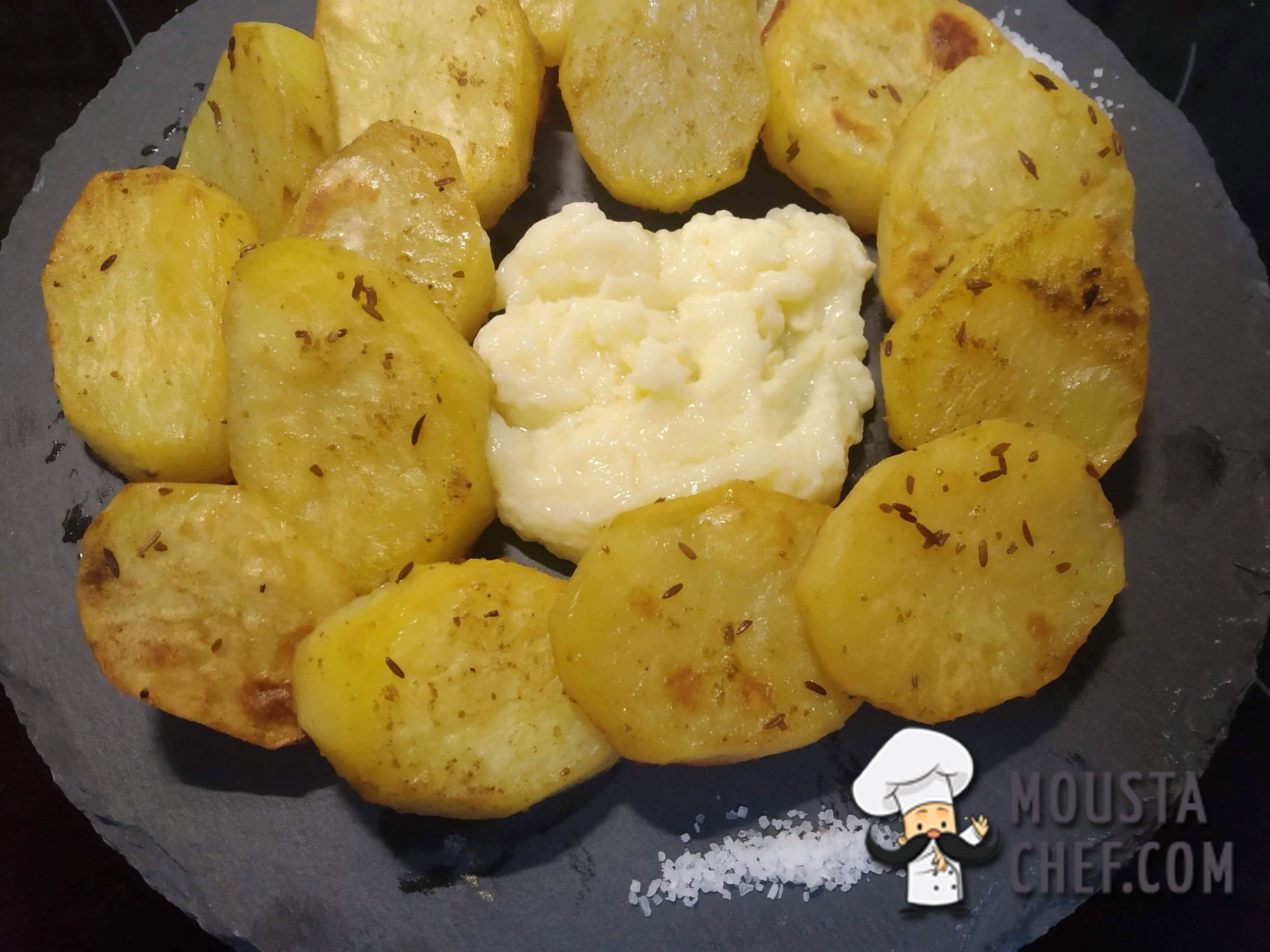 Patatas Asadas con Comino